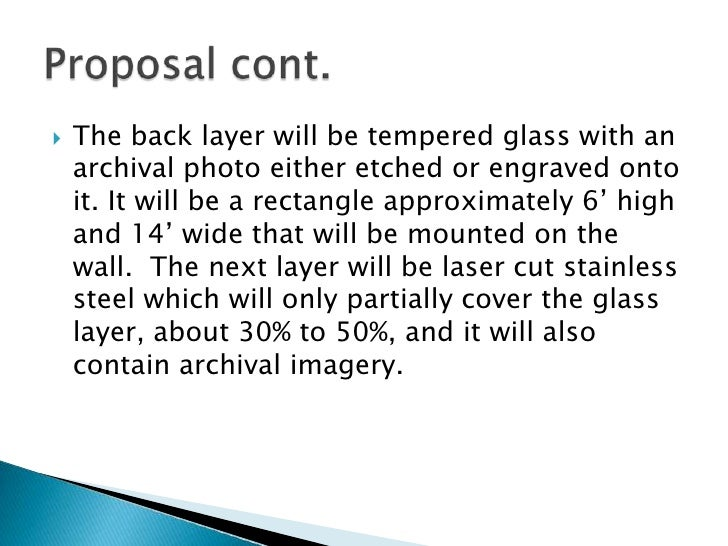 art proposal example