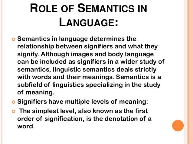 semantics linguistics Soas u/g course description, issues in semantics  department of linguistics,  school of languages, cultures and linguistics issues in semantics.