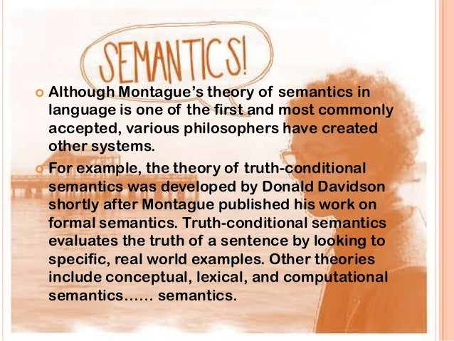 Semantic theory of truth
