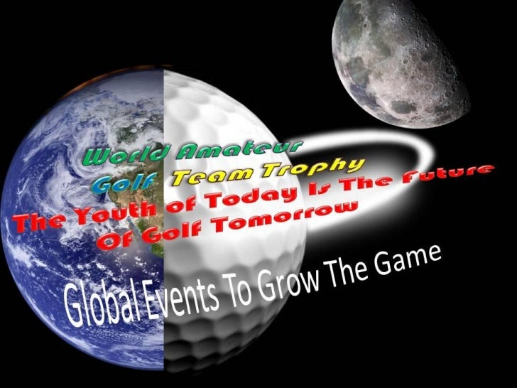 """The WAGTT Championship Tour, would like topresent the World Amateur Golf Team Trophy, golftournaments that will generate ..."