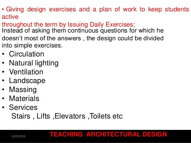 Exellent Architecture Design Exercises Concept Map For The