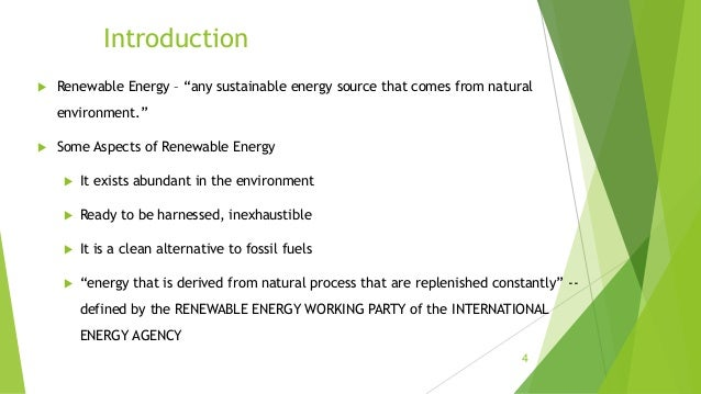 Sustainable And Non Sustainable Energy