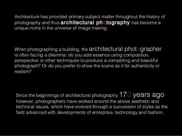 Architecture Photography History architecture photography