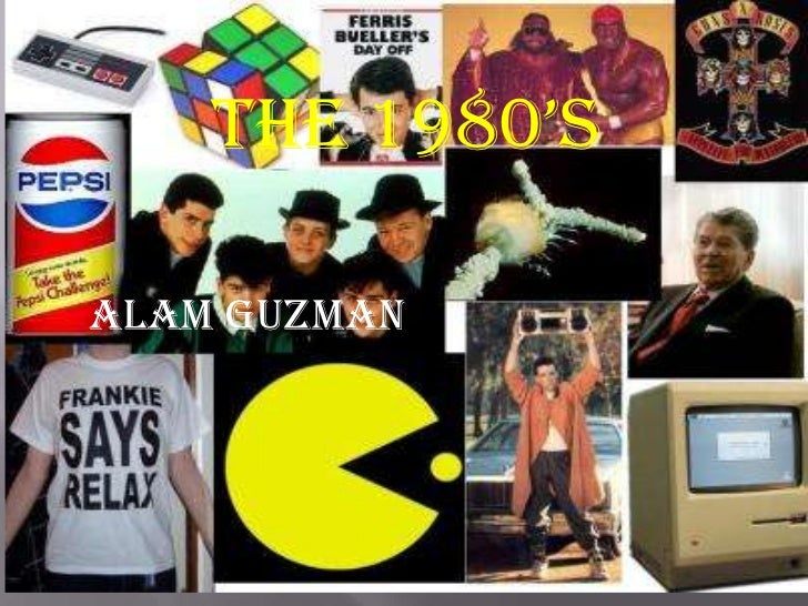 The 1980's<br />Alam Guzman<br />