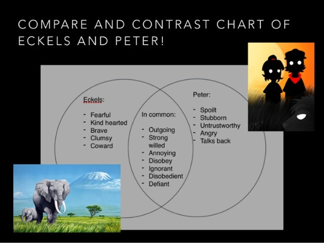 Comparison of the veldt and the