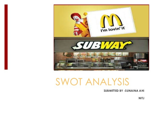 swot analysis quiznos Browse through our free business essays,  iexternal limitations of swot analysis include increase in prices of raw  differences between subway and quiznos.
