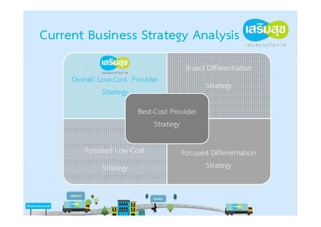 Strategic PositioningOverall Low-Cost Provider Strategyการจัดการด้านต้นทุน ทําให้ต้นทุนต่าที่สุด                          ...