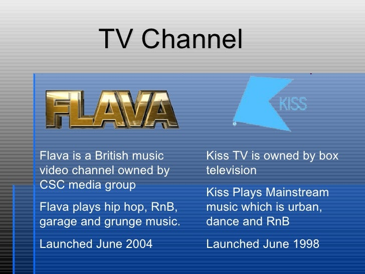 Flava is a British music video channel owned by CSC media group Flava plays hip hop, RnB, garage and grunge music. Launche...