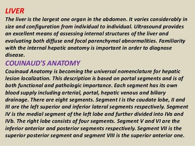 Presentation1 Abdominal Ultrasound Anatomy