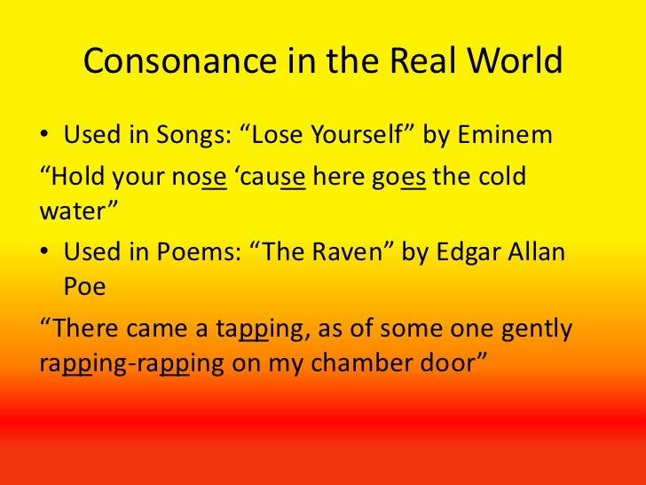 Consonance Examples Alisen Berde