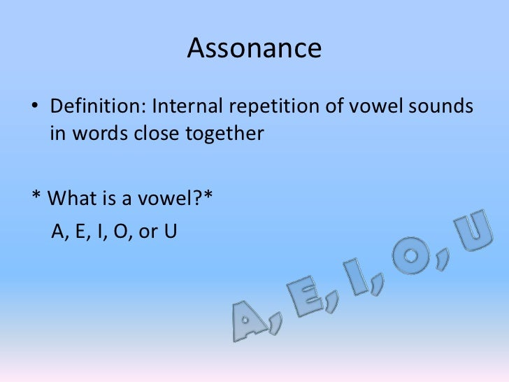 what are some examples of consonance