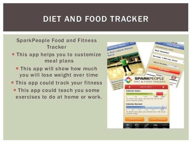diet and fitness tracker