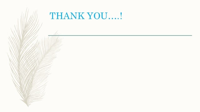THANK YOU….!