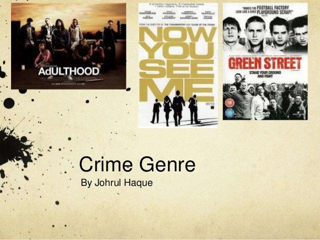 Crime Genre By Johrul Haque