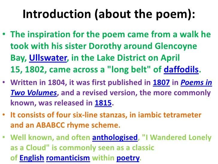 Daffodils Poem Pdf