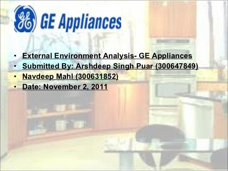 ge external anaysis An opportunity is a positive external factor a threat is a negative external factor diagram: a swot analysis we should aim to turn our weaknesses into strengths,.