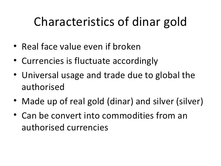 Characteristic of gold dinar investment foreign investment types and flows ppt presentation
