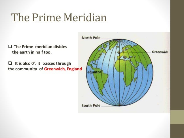 Where Are All The Prime Meridians Gallery Diagram