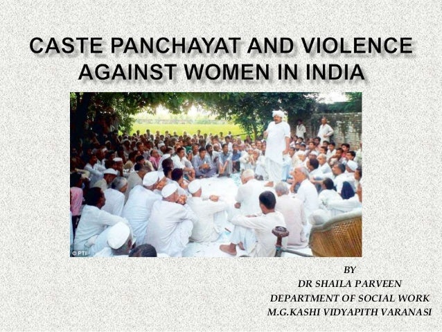 BY DR SHAILA PARVEEN DEPARTMENT OF SOCIAL WORK M.G.KASHI VIDYAPITH VARANASI