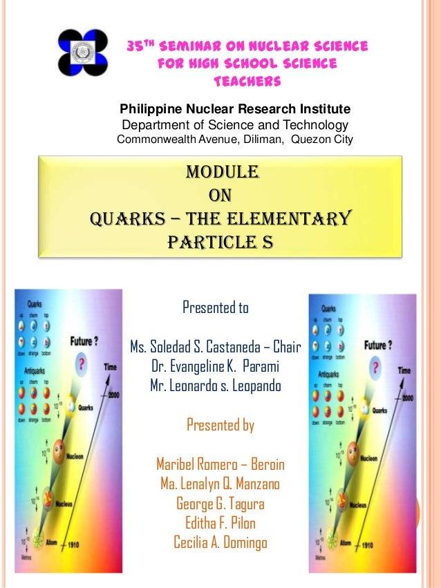 4 th Trath C urs o Nuc a Tehno g   4 ining o e n le r c lo y    35       Seminar on Nuclear Science  fo U rs forgHigh Scho...