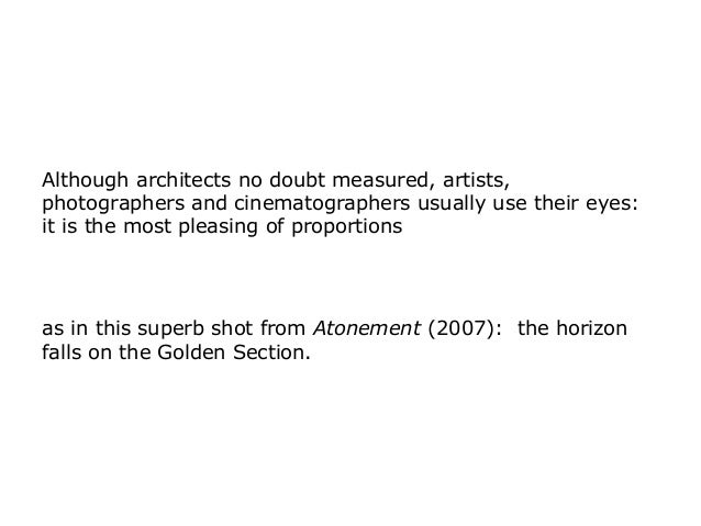 atonement cinematic techniques Kaminski uses a wide variety of different techniques  to create some of the most unique cinematic works of the  omg this list without atonement is useless.