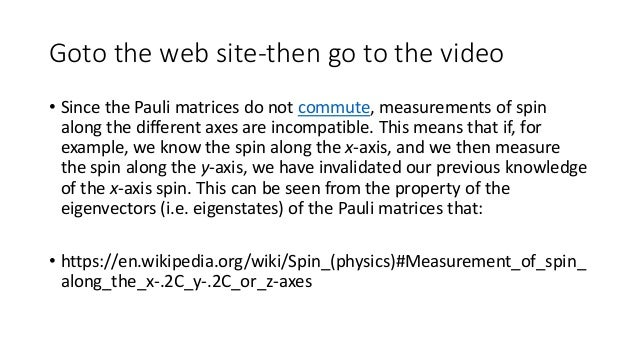 Heisenberg's Uncertainty Principle Explained • https://www.youtube.com/watch?v=a8FTr2qMutA