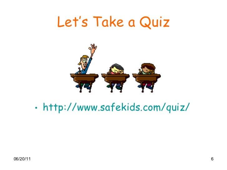 Cyber Safety Quiz For Kids   Kids Matttroy