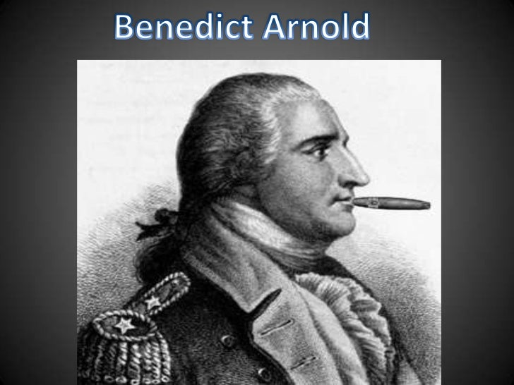 Benedict Arnold<br />