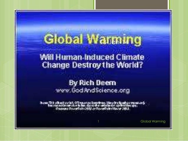 13-Jan-14  1  Global Warming