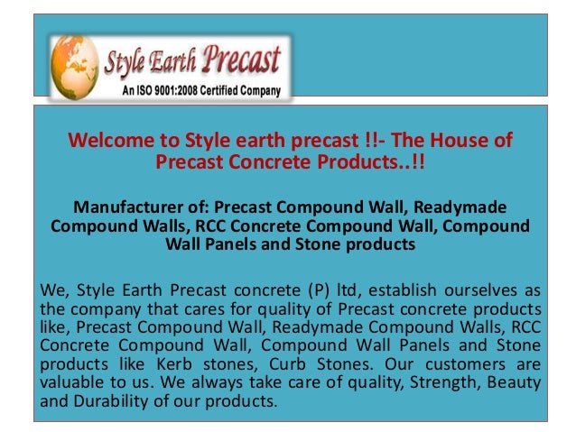 Welcome to Style earth precast !!- The House of Precast Concrete Products. c63b05ea9b8