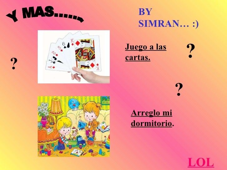 Juego a las cartas. Arreglo mi dormitorio . Y MAS....... LOL BY SIMRAN… :) ? ? ?