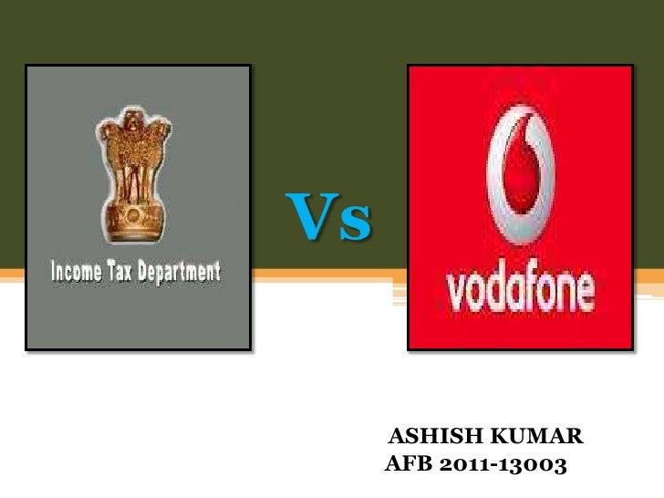 Vs     ASHISH KUMAR     AFB 2011-13003