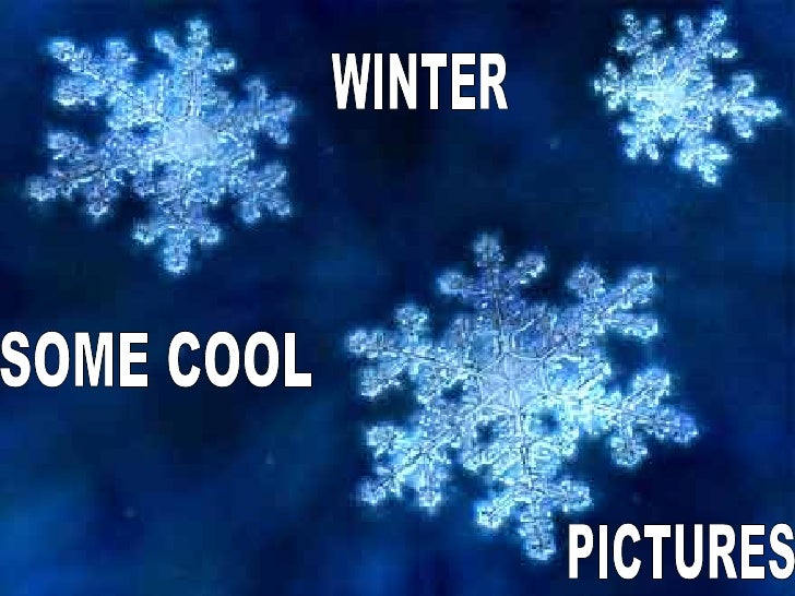 cool winter pictures