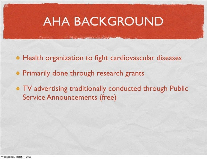 American Heart Association - Campbell-Ewald: Marketing Research Slide 2