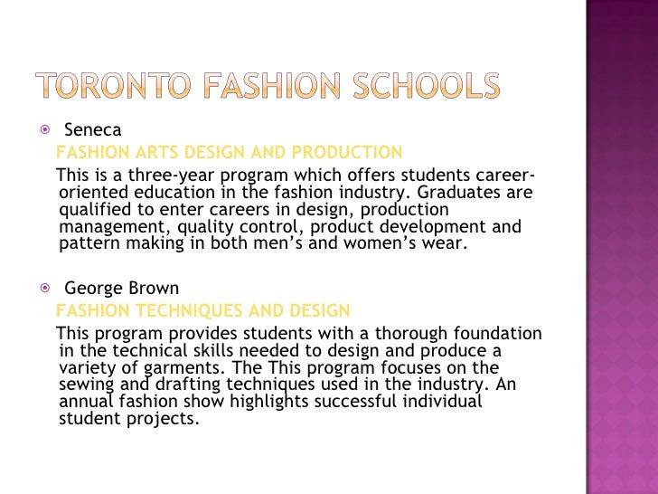 Toronto Fashion Cluster Presentation