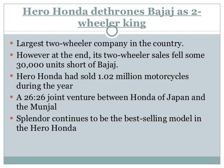 Hero Honda Vs Other Company