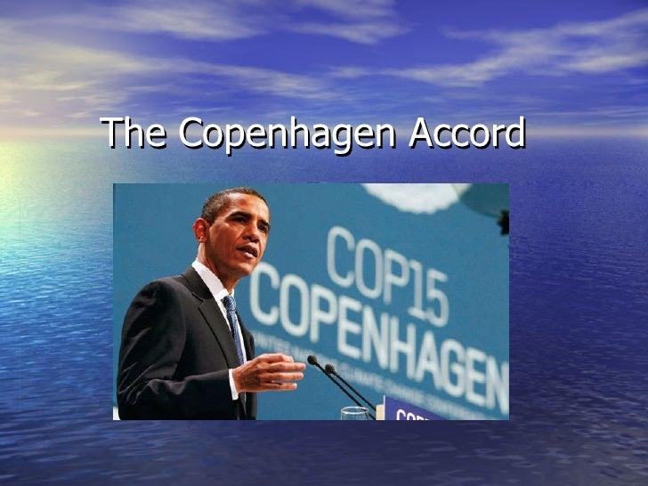 The Copenhagen Accord