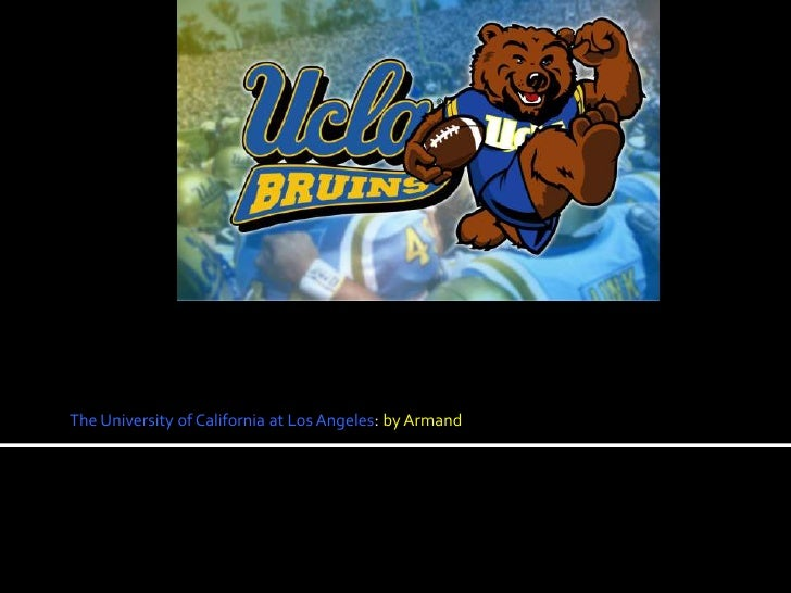 The University of California at Los Angeles: by Armand<br />