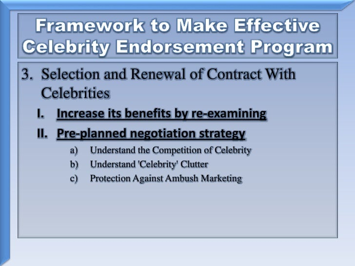 the impact of celebrity endorsement on brand recognition Free essay: impact of celebrity endorsements on brand image introduction celebrities are people who enjoy public recognition by a large share of a certain.