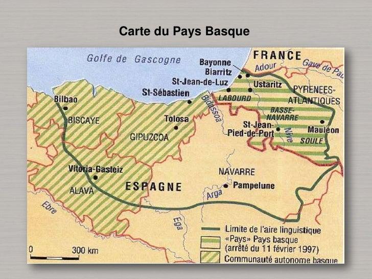 Carte du Pays Basque<br />