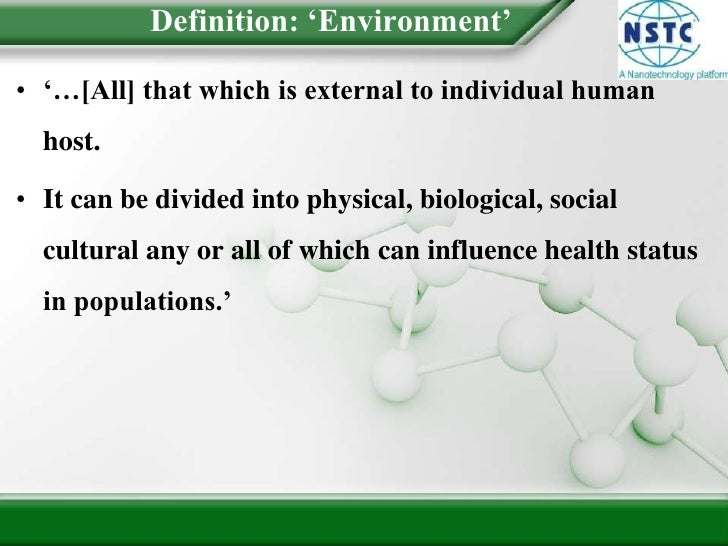 Introduction To Environmental Health Slide 3