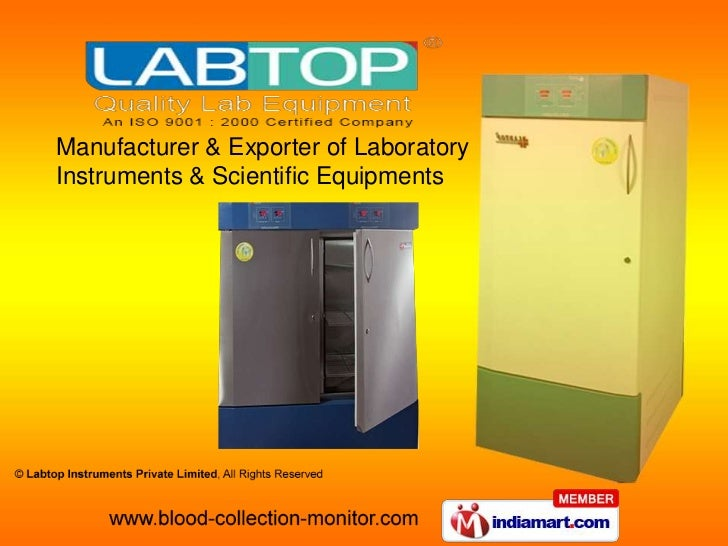 Manufacturer & Exporter of Laboratory Instruments & Scientific Equipments<br />