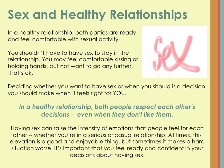 What Makes A Healthy Dating Relationship