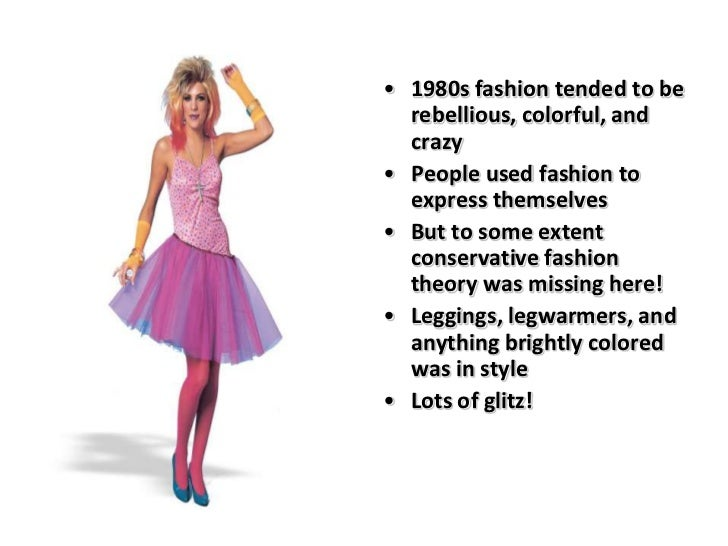 fashion fad of 80s