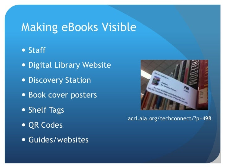 Integrating ebooks and ereaders into your library part 2 april 2012 50 fandeluxe Gallery