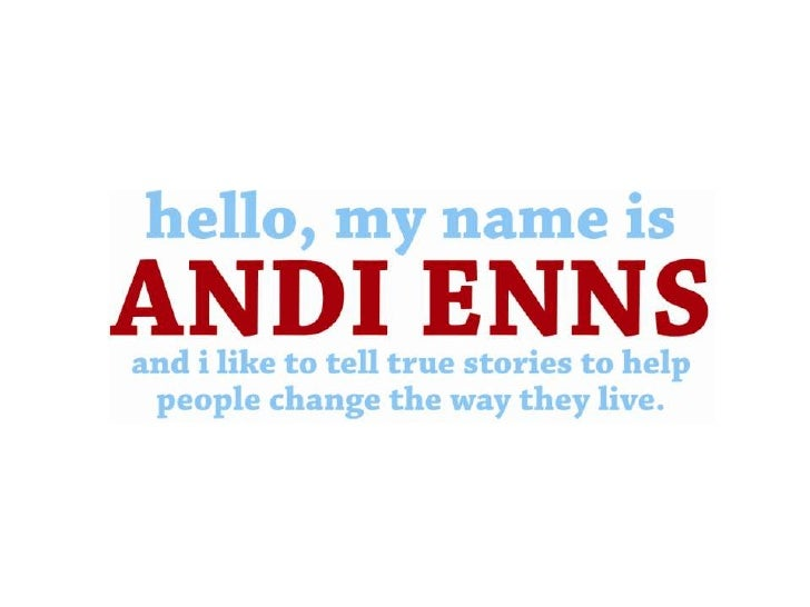 Who is Andi Enns?