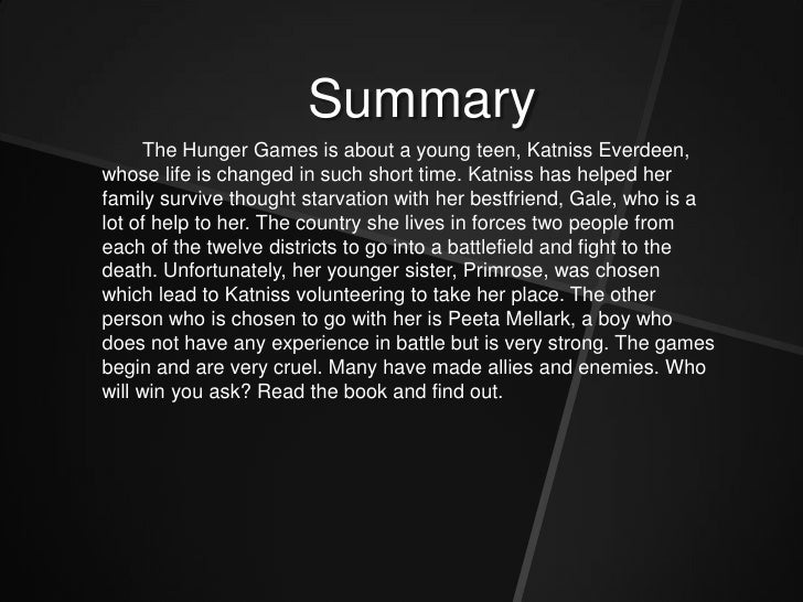 the hunger games resume resume ideas