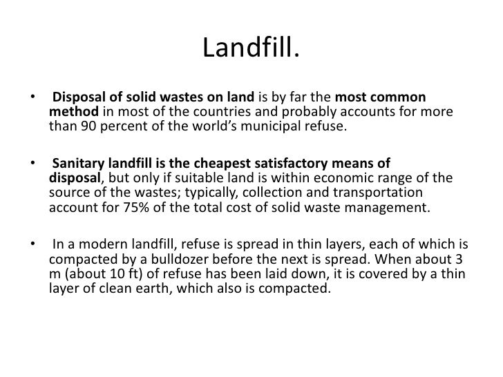 solid waste pollution pdf