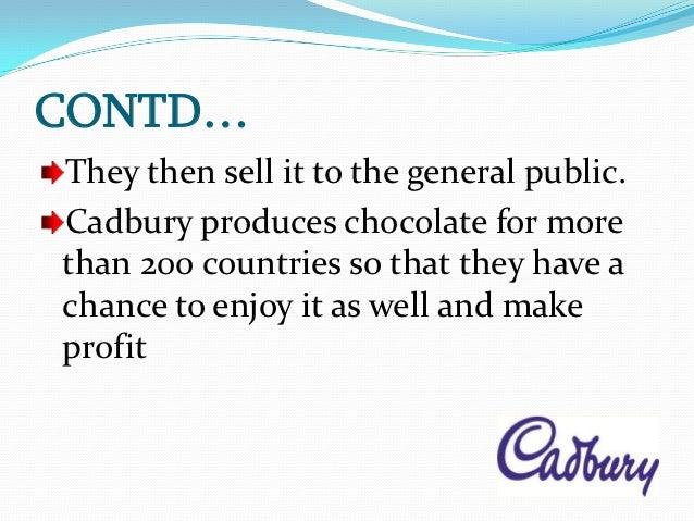 Cadbury Marketing Mix (4Ps) Strategy