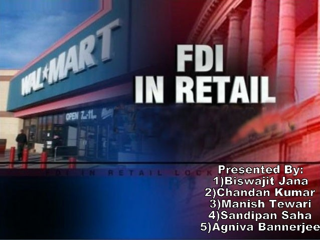 INDEX   Introduction   Definition of Retail   FDI Policy with regard to Retail in India   FDI in Single Brand Retail ...